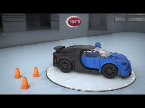 Конструктор Bugatti Chiron - LEGO SPEED CHAMPIONS - фото № 3