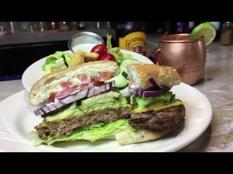 Elios Turkey Burger,  @ EliosDining.com By Playback.net