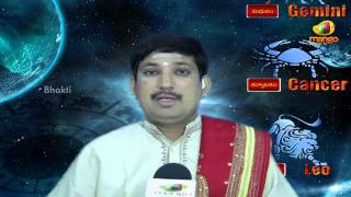 Astrology - Raasi Phalalu 9th June 2013 Sunday - Horoscope