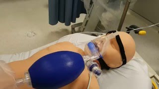 Jimmy Rigging a CPAP mask with a BVM and Peep Valve
