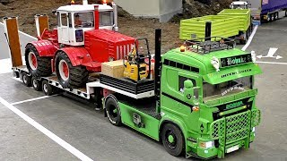Scale model trucks at the hard work. The models are in scale 1/16.Event: Treffpunkt Modellbau Paaren im Glien 2017More videos from this event you can see my playlist:https://www.youtube.com/playlist?list=PLeQrXy3lR8j87YrjD_JWUPCgC8b-oIx4GCopyright: RC SPOTTER