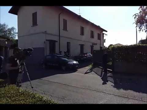 Magnago: tragedia della gelosia in via Ferrari (видео)