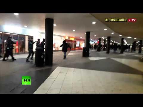 Стокгольм: люди в масках
