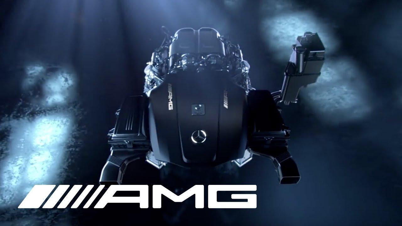 AMG 4.0 Liter V8 Biturbo Engine (M178)