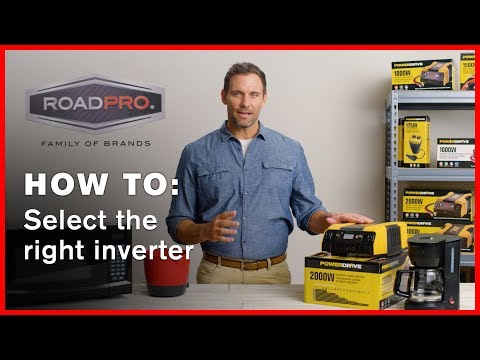 Power Inverter HOW TO #1 - How to select the right power inverter