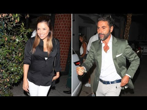 Eva Longoria Is Fresh-Faced And Radiant As She Dines With Hubby Jose Baston