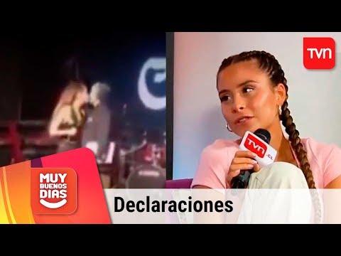 Camila Gallardo se refiere a incómodo momento con alcalde Puerto Varas   Muy buenos días
