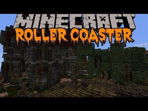 roller coaster - Check out this epic Halloween Roller Coaster yourself! Enjoy the video? Help me out and share it with your friends! Like my Facebook! http://www.facebook.com...