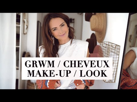 BEAUTY / ROUTINE CHEVEUX + MAKE-UP + LOOK видео