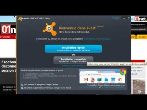 comment installer avast antivirus