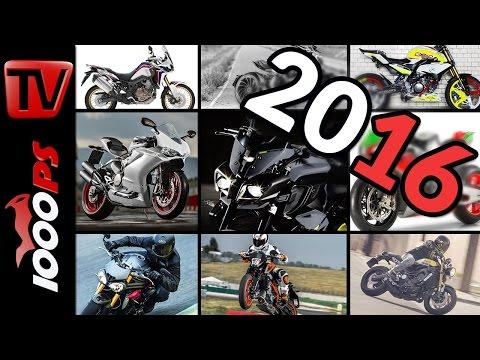 Motorrad Highlights 2016 - Neue Modelle im Überblick