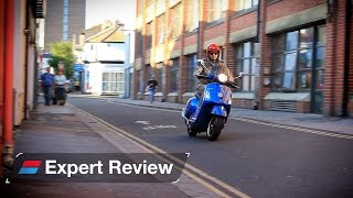 3. 2015 Vespa GTS Super 300 ABS bike review