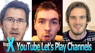 Top 10 Let's Play YouTube Channels - TopX Ep. 2
