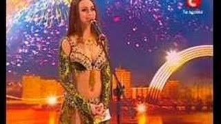 Oryantal Dans - - Dünya En Güzel Kız Ukrayna Yetenek Var.