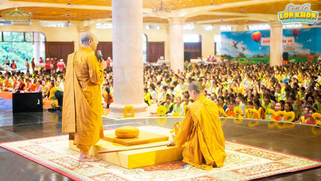 Chương trình Lễ Phật - Ngồi Thiền - Khóa tu mùa hè 2020 Chùa Ba Vàng