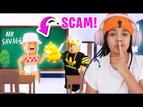 I SCAMMED The BIGGEST SCAMMER In Adopt Me School! Roblox