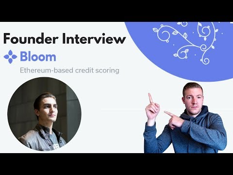 Bloom is Aiming to Revolutionize Credit - Interview with Bloom Co-Founder, Jesse Leimgruber video