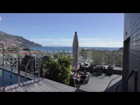 The Vine Hotel Funchal Rooftop Bar 4k