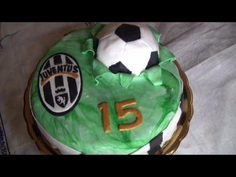Torta  calcio , juventus