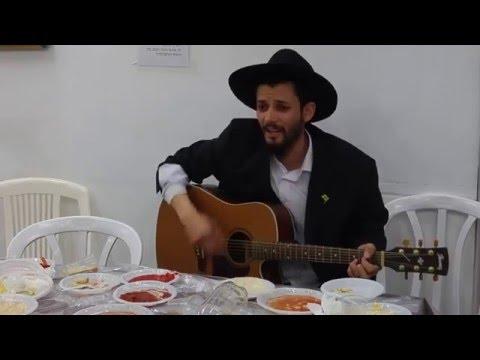 """הת&#039 שמעון אזולאי בשיר: """"הנה זה משיח בא"""""""