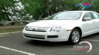 TEST DRIVE FORD FUSION 2008 AUTOMOCION TV