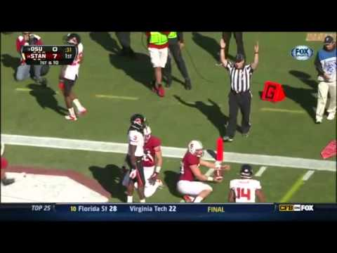 Kevin Hogan vs Oregon St. 2012 video.