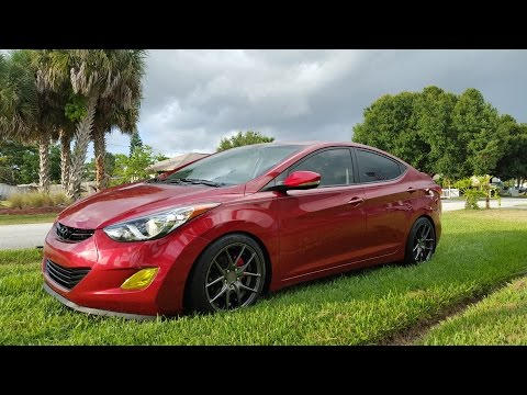 2012 Hyundai Elantra Update NEW WHEELS