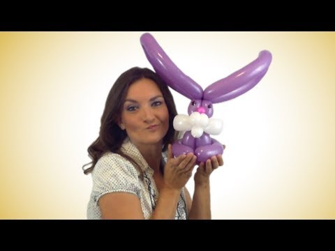 Easy Bunny Balloon Animal How-To Instructions!