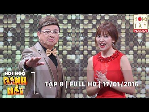 HỘI NGỘ DANH HÀI 2016 - TẬP 8 FULL Ngày 17/01/2016