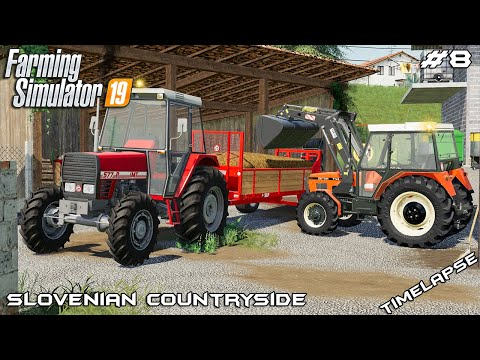 Spreading manure & delivering seed   Slovenian Countryside   Farming Simulator 2019   Episode 8