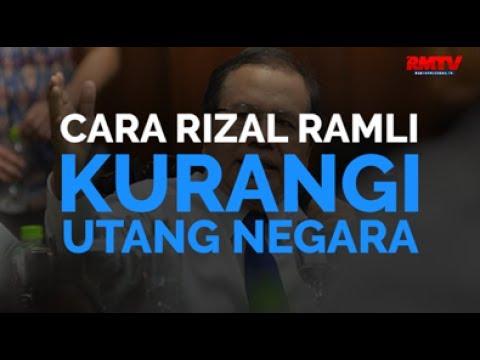 Cara Rizal Ramli Kurangi Utang Negara