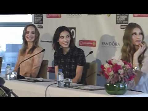Alexa Chung 30 Days of Fashion & Beauty Press Conference, Sydney
