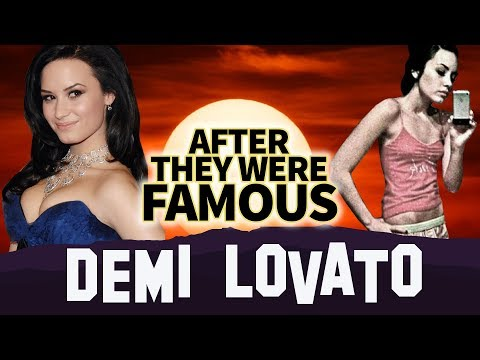 DEMI LOVATO  AFTER They Were Famous  Overdose & Hospitalization