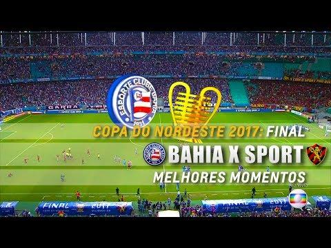 HD | Melhores Momentos: Bahia 1 x 0 Sport - Nordestão 2017 (Final)