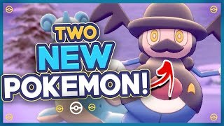 2 New Pokémon Revealed!! New Pokémon Sword and Shield Trailer Thoughts and Impressions by HoopsandHipHop