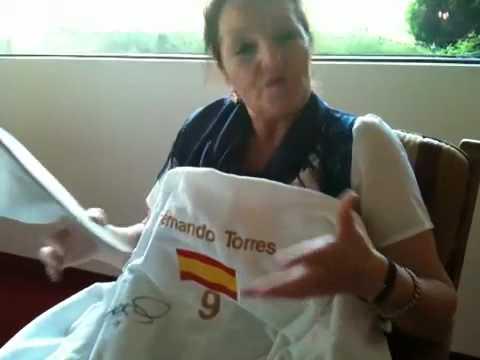Bademantel Fernando Torres