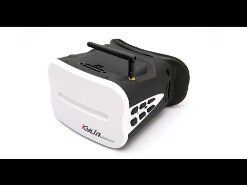 KDS Kylin Vision Headset Goggles for FPV Quadcopte