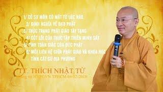 Vấn đáp: Phái cổ sư môn - Định nghĩa về đạo Phật - TT. Thích Nhật Từ
