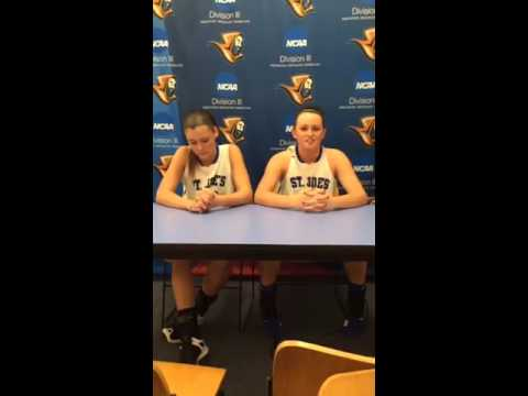 Women's Basketball Post Game with Marks and Benway