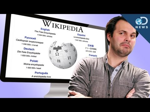 wikipedia - It's the go-to website for information on just about anything. But is the info on Wikipedia worth it's weight in megabytes? Trace has the answer and tells us...