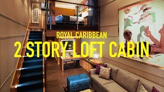 I've been on over 10 different cruises, but this time I had the chance to experience this amazing 2 story cabin. Please share this video if you thought it was cool. New videos every Monday, Wednesday and Friday!Instagram - http://instagram.com/justinescalonaTwitter - http://twitter.com/justinescalonaSnapchat- JustinEscalonaBusiness Related Inquiries: justin@1340studios.comPO BOX! 325 W. Adams Blvd #4173 Los Angeles, CA 90007My 2nd Channel! https://www.youtube.com/channel/UCJcUGJg1hBg3QJ_bq0pTfJQTWO STORY CRUISE CABIN TOUR! Royal Caribbean OASIS OF THE SEAS CROWN LOFT SUITE