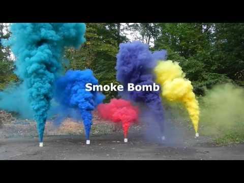 Как сделать цветной дым в домашних 750