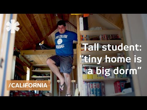 student - When Joel Fleck moved home to after college, he wanted his own place, but he didn't want to pay the steep Sonoma County rents, so he decided to build his own tiny home on a trailer. Inspired...