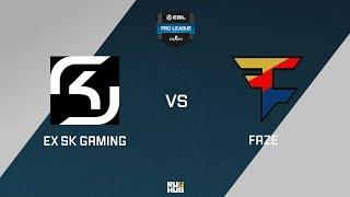 Team X vs FaZe, game 1
