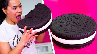 Video How To Make A GIANT OREO Out Of Chocolate CAKE & BUTTERCREAM | Yolanda Gampp | How To Cake It MP3, 3GP, MP4, WEBM, AVI, FLV Maret 2018