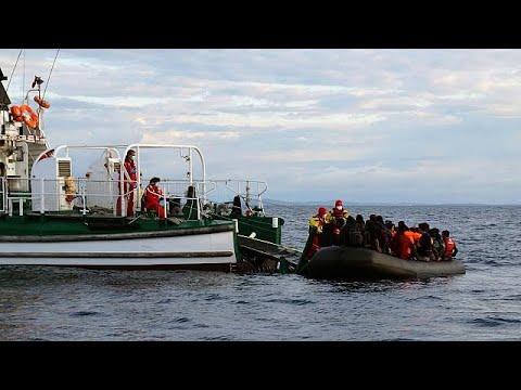 Νέα διάσωση μεταναστών στο Αιγαίο
