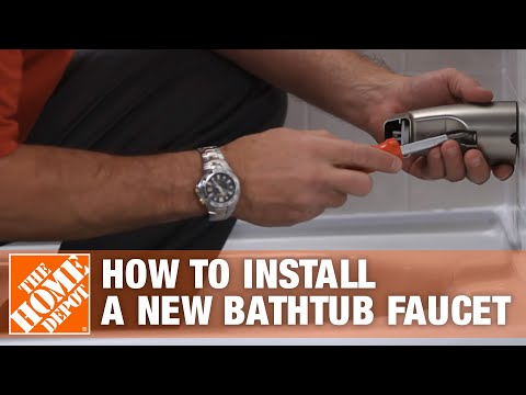 See How Easy It Is To Install A New Bathtub Faucet Using The Sioux Chief Smart Spout – The Home Depo