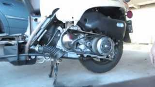 2. 2013 Honda Metropolitan CNH50 - variator upgrade