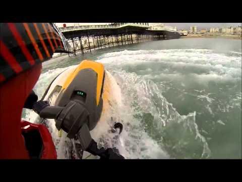 Jet ski fun in Brighton UK