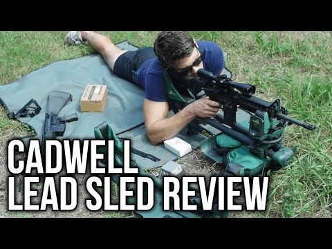 Caldwell Lead Sled and Lead Sled DFT Review (видео)